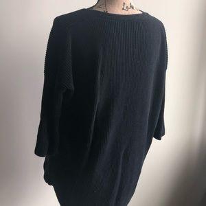 Express Sweaters - Express oversized v neck sweatshirt